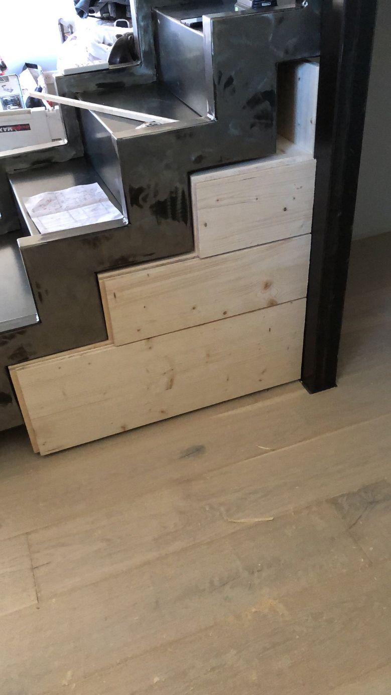 Escalier bois à Martigues | Atelier Olive Fernand et Fils